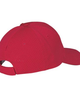 Port Authority YC833    Youth Pro Mesh Cap Red