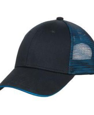 Port Authority C818    Double Mesh Snapback Sandwich Bill Cap Catalog