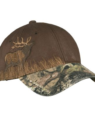 Port Authority C820    Embroidered Camouflage Cap MO Country/Elk