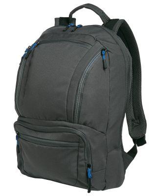 Port Authority BG200    Cyber Backpack Dk Char/Royal