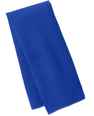 Port Authority TW59    Waffle Microfiber Fitness T Royal