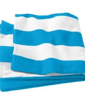 Port Authority PT43 Port & Company   Cabana Stripe Beach Towel Catalog