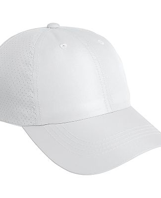 Port Authority C821    Perforated Cap White