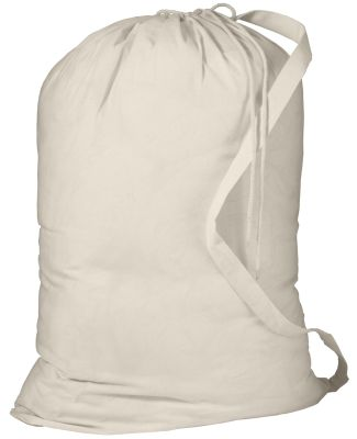 Port Authority B085    - Laundry Bag Natural