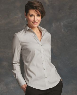 Calvin Klein 13CK018 Women's Cotton Stretch Shirt Catalog