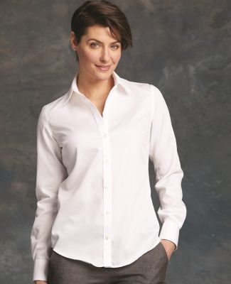 Calvin Klein 13CK034 Women's Non-Iron Micro Pincord Long Sleeve Shirt Catalog