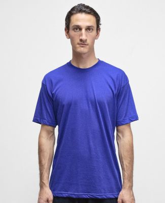 Los Angeles Apparel FF01 50/50 Poly Cotton Tee Lapis