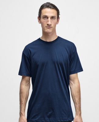 Los Angeles Apparel FF01 50/50 Poly Cotton Tee Navy