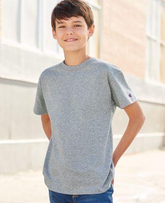 Champion T435 Youth Short Sleeve Tagless T-Shirt Catalog