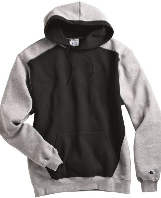 Champion S750 Double Dry Eco Colorblocked Hooded Sweatshirt Catalog