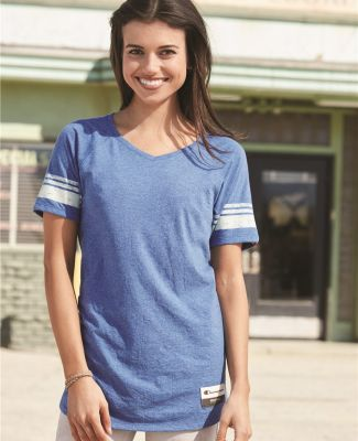 Champion AO350 Authentic Originals Women's Triblend Varsity Tee Catalog