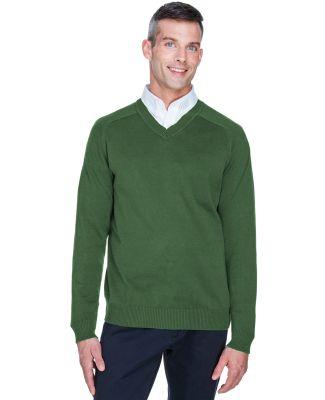 D475 Devon & Jones Men's V-Neck Sweater FOREST