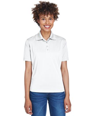 UltraClub 8610L Ladies' Cool & Dry 8 Star Elite Pe WHITE