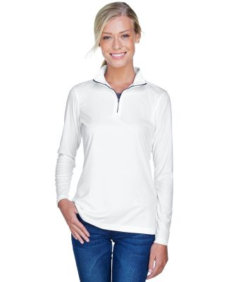 UltraClub 8424L Ladies' Cool & Dry Sport Performan WHITE