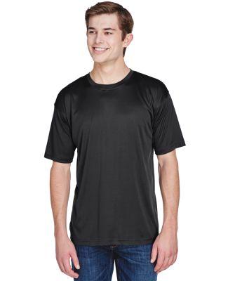 UltraClub 8620 Men's Cool & Dry Basic Performance  BLACK