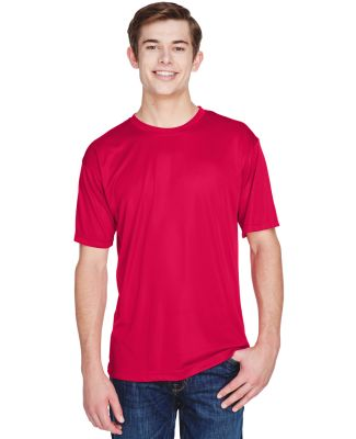 UltraClub 8620 Men's Cool & Dry Basic Performance  RED