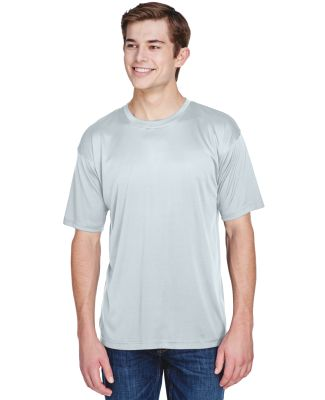 UltraClub 8620 Men's Cool & Dry Basic Performance  GREY