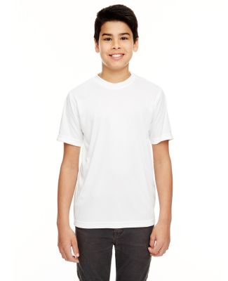UltraClub 8620Y Youth Cool & Dry Basic Performance WHITE