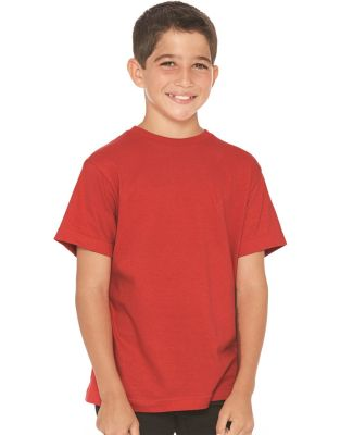 LAT 6180 Youth Heavyweight Combed Ringspun Cotton T-Shirt Catalog