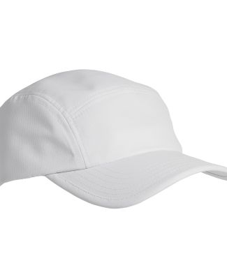 Big Accessories BA603 Pearl Performance Cap WHITE