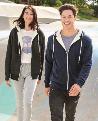 Independent Trading Co. EXP90SHZ Unisex Sherpa-Lined Hooded Sweatshirt Catalog