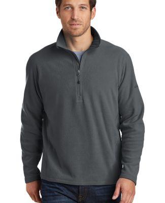 Eddie Bauer EB226 1/2-Zip Microfleece Jacket Grey Steel