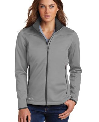 Eddie Bauer EB539  Ladies Weather-Resist Soft Shel Chrome