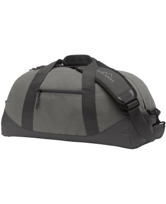 Eddie Bauer EB900  Medium Ripstop Duffel Pewter Grey