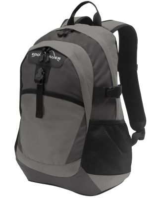 Eddie Bauer EB910  Ripstop Backpack Pewter Gy/GySt