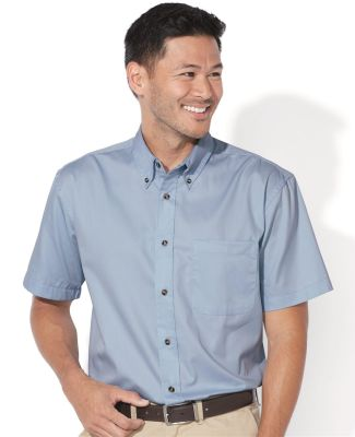 FeatherLite 0281 Short Sleeve Stain-Resistant Twill Shirt Catalog