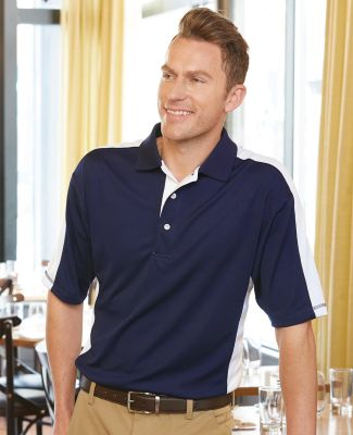 FeatherLite 0465 Colorblocked Moisture Free Mesh Sport Shirt Catalog