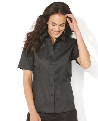 FeatherLite 5281 Women's Short Sleeve Stain-Resistant Tapered Twill Shirt Catalog