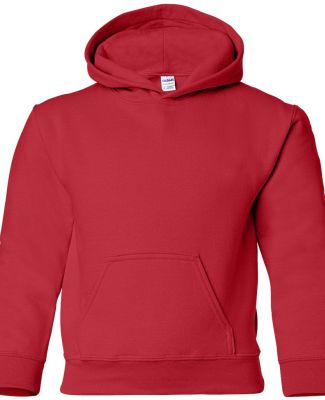 G185B Gildan Youth 7.75 oz. Heavy Blend™ 50/50 H RED