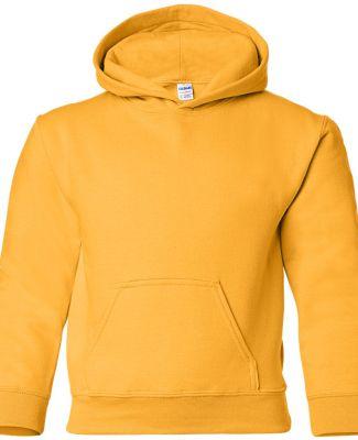 G185B Gildan Youth 7.75 oz. Heavy Blend™ 50/50 H GOLD