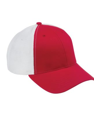 OSTM Big Accessories Old School Baseball Cap with  RED/ WHITE