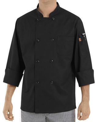Chef Designs KT76 Black Traditional Chef Coat Catalog