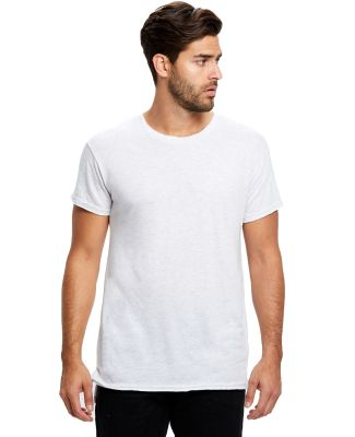 US Blanks US3400 Men's 4.9 oz. Triblend Skater Tee Tri-Ash