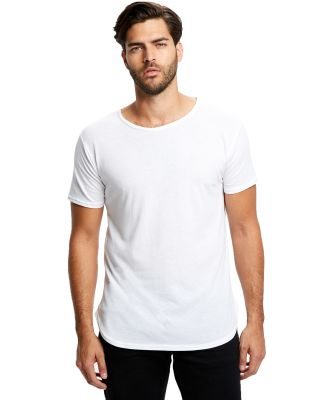 US Blanks US2488 Men's Short-Sleeve Recycled Crew White