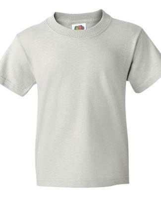3931B Fruit of the Loom Youth 5.6 oz. Heavy Cotton White