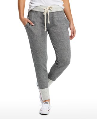 US Blanks US871 Ladies' French Terry Sweatpant Tri-Grey