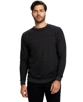 US Blanks US2211G Unisex 6.5 oz. Heavyweight Loop  Tri-Black