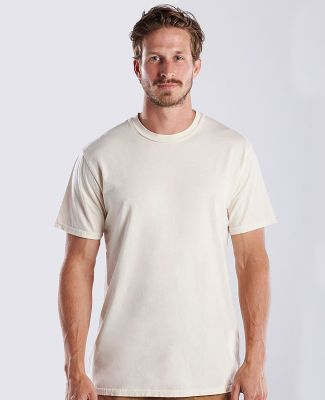US Blanks US2000G Men's 4.5 oz. Short-Sleeve Garme Cream