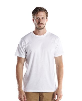 US Blanks US200OR Men's 5.8 oz. Short-Sleeve Organ White