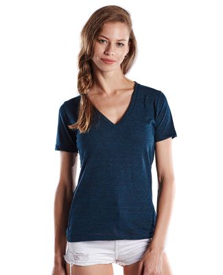 US Blanks US228OD Ladies' 5.2 oz. Short-Sleeve Tri Blue green