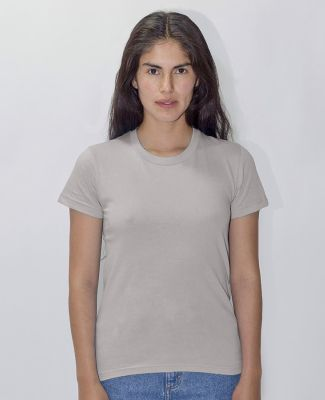 Los Angeles Apparel 21002 Ladies Fine Jersey Tee Silver