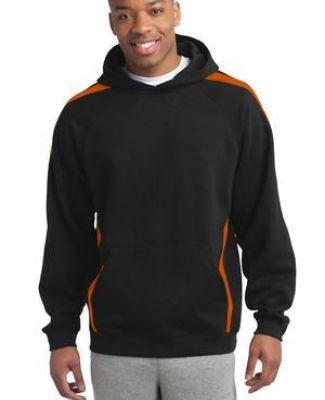 Sport Tek ST265 Sport-Tek Sleeve Stripe Pullover Hooded Sweatshirt Catalog