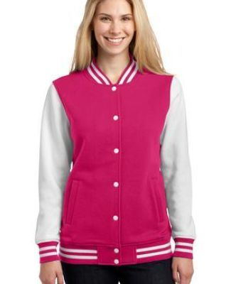 Sport Tek LST270 Sport-Tek Ladies Fleece Letterman Jacket Catalog