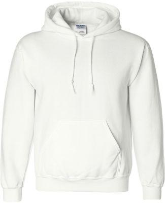 12500 Gildan 9.3 oz. Ultra Blend® 50/50 Hood WHITE