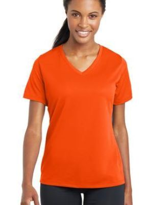 Sport Tek LST340 Sport-Tek Ladies PosiCharge RacerMesh V-Neck Tee Catalog