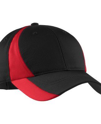 Sport Tek YSTC11 Sport-Tek Youth Dry Zone Nylon Co Black/True Red